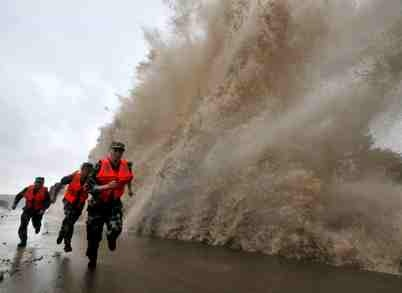 Typhoon Fitow - Chaos in China
