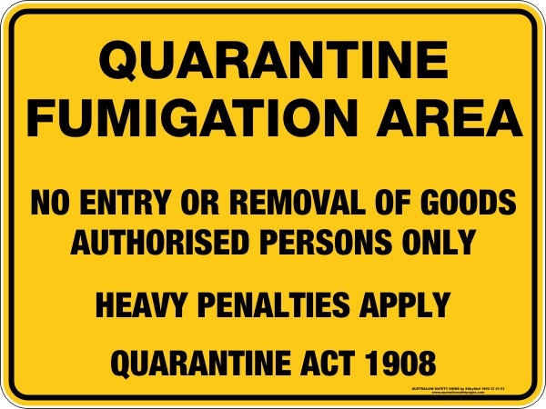Click to download USA to Australia – Fumigation Requirement