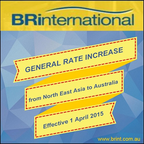 Maersk general rate increase for North East Asia